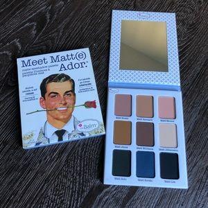 theBalm Meet Matt(e) Ador Palette
